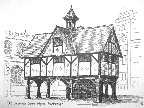Old Grammar School - Sheila Pendered